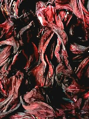 Organic Dried Roselle Flowers - Hibiscus sabdariffa - Apothecary Tea Wicca Herb