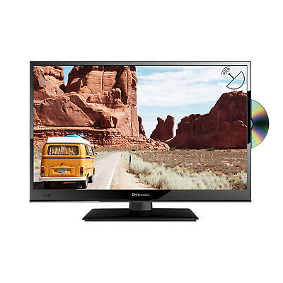 "EMtronics 16"" Inch Full HD 1080p 12 Volt TV with DVD Player and Satellite Tuner"