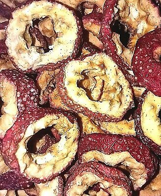 Organic Dried Hawthorn Fruit Slices - Crataegus - Apothecary Fruit Wicca Herb