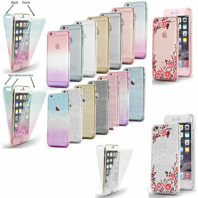 Case for Apple iPhone 8 7 6S Plus XR XS MAX Cover ShockProof 360 Hybrid Silicone