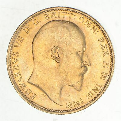 1903 Great Britain 1 Sovereign - World Gold Coin *145