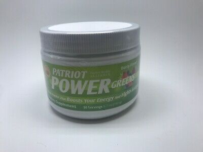 PATRIOT HEALTH ALLIANCE POWER GREENS PATRIOT Energy Drink FREESHIPPING
