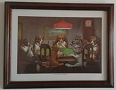 Poker Playing Dogs - Six for $95