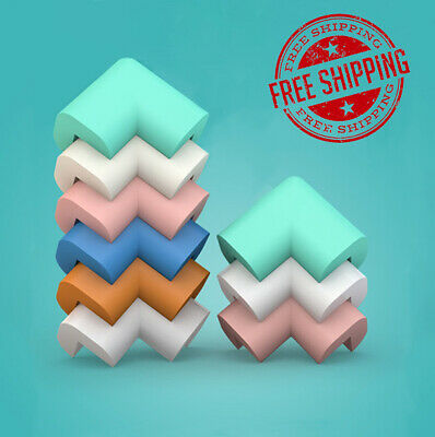 New 10pcs Non Toxic Soft Table Corner Protector Sharp Guards Baby Kids Safety