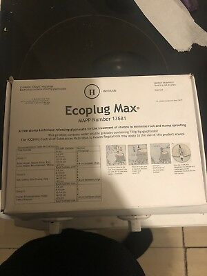 Eco plug MAX tree killer, fast & effective stops regrowth of stumps and roots!!