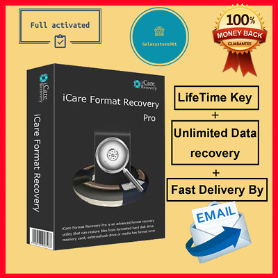 iCare Data Recovery Pro 2019✔🔑Lifetime Full activation🔑✔ Fast Email Delivery ✔