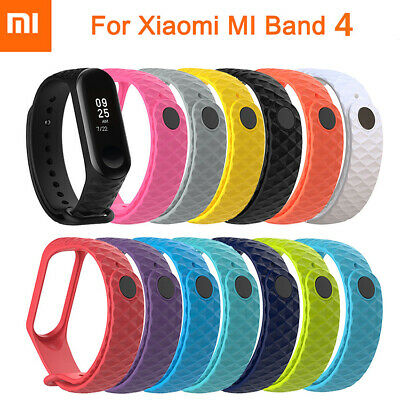 For XIAOMI MI Band 4 / MI Band 3 Original Silicon WristBand Bracelet Wrist Strap
