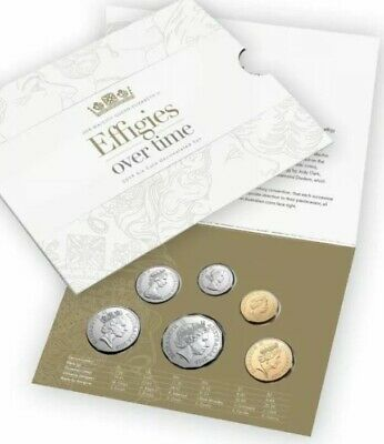 2019 Royal Australian EFFIGIES OVER TIME OF QEII MINT UNCIRCULATED 6 COIN SET