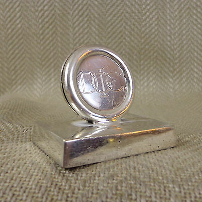 Antique Place Card Holder Menu Stand Silver Plate Art Deco Mappin and Webb