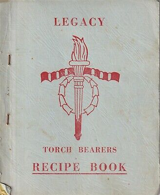 Vintage Legacy Torch Bearers Recipe book