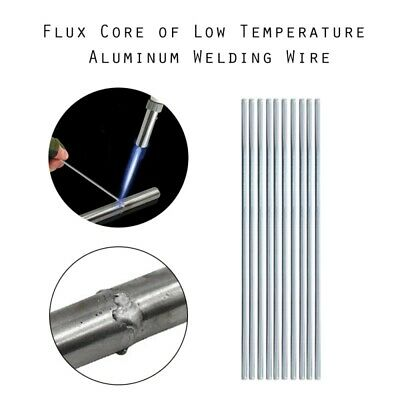 10-50pcs Easy Melt Welding Rods Low Temperature Aluminum Wire Brazing  2mm*500mm