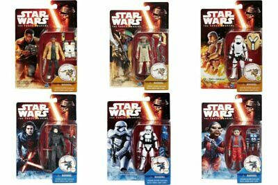 """Hasbro Star Wars The Force Awakens 3.75"""" Wave 2 Completed  6 Set  Action Figure"""