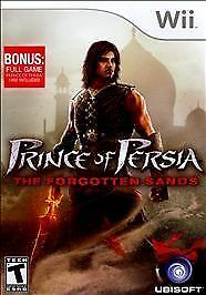 Prince of Persia: The Forgotten Sands (Nintendo Wii, 2010) VERY GOOD