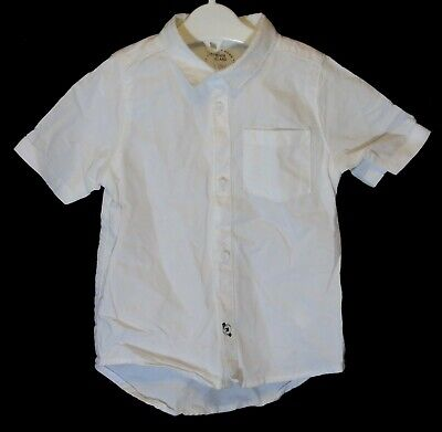 Baby Boys River Island White Short Sleeve Smart Casual Shirt Age 12-18 Months