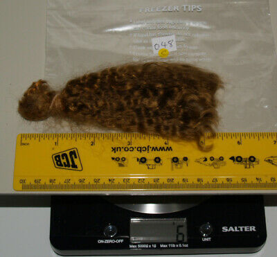 048C- 6g Beautiful Mohair, for fairy, doll wig making, puppet, ooak