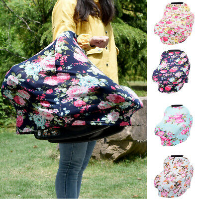 Nursing Cover Car Seat Canopy Baby Breastfeeding Stroller Cover for Baby CA