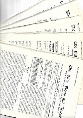 5 Aston Villa  pre war reserve homes V Blackburn res 30/1 32/3 33/4 37/8 38/9