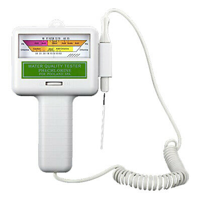 Water Quality PH/CL2 Chlorine Tester Level Meter for Swimming Pool Spa S8G3