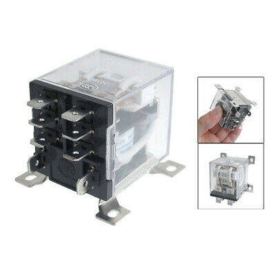 JQX-12F 2Z DC 12V 30A DPDT General Purpose Power Relay 8 Pin A7Y4