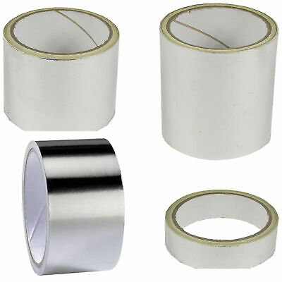 Self Adhesive Aluminium Foil Tape Reflective Heat Moisture Resistant Insulation