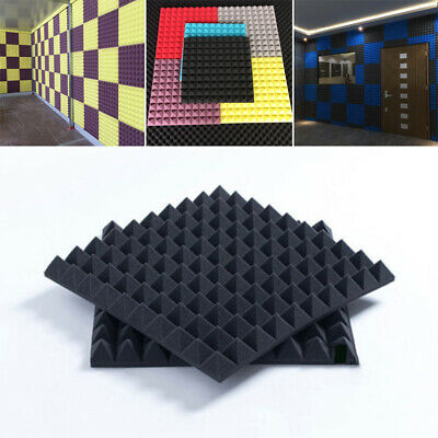 Acoustic Sound Stop Absorption Studio Soundproof Foam Sponge  For KTV Harp Room
