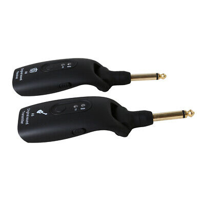 4H UHF Guitar Wireless System Transmitter Receiver for Electric Guitar Bass