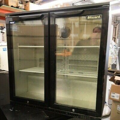 Under Counter Bottle Cooler- Double Door - For Bars/Restaurants/Pubs