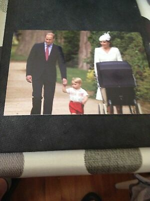 Royal Postcard - Arriving at HRH Princess Charlotte's Christening
