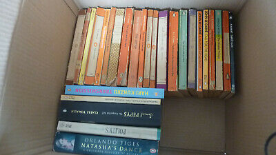 Collection job lot of 61 penguin paperbacks