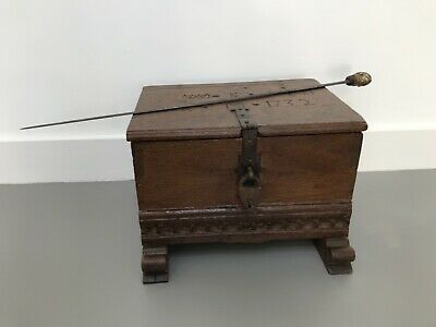Surinam Dutch VOC WIC slave trade 18th century chest  walking cane restraint