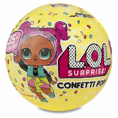 100% Genuine & Official BN Sealed Lol Surprise Doll Series 3 Confetti Pop Wave 1