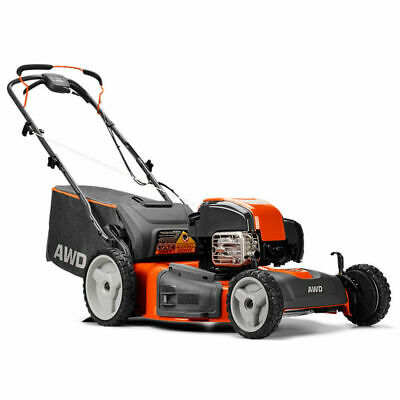 Husqvarna 22 Inch Self Propelled Gas Lawn Mower with Briggs & Stratton Engine