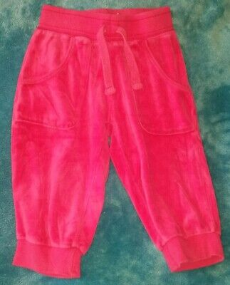 Lovely Soft Comfortable Brightpink Cropped Trousers Age 8-9 Excellent Condition