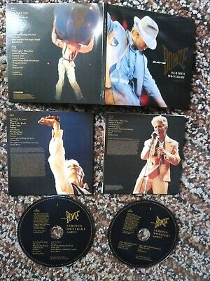 DAVID BOWIE serious moonlight lp mini sleeve record 2018 remastered album 2 CD
