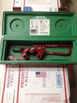 Nice Greenlee 796 Cable Wire Bender Bending Kit Ratcheting #7195