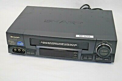 Sharp XA-720 Pro SVHS Video Cassette Player & Recorder | Great Shape, Tested nc