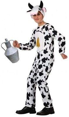 Girls Boys Farm Nativity Animal Cow Carnival Fancy Dress Costume Outfit 3-12 yrs