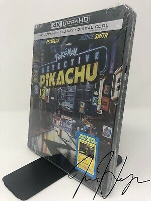 Pokemon Detective Pikachu [SteelBook] (4K Ultra HD + Blu-ray + Digital)