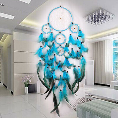 Feather Dream Catcher Net Handmade Wall Hanging Dreamcatcher Home Car Decor
