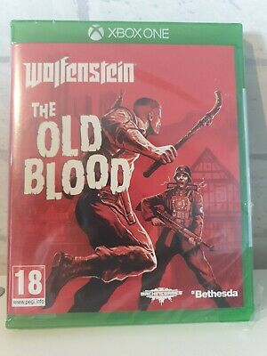 Wolfenstein: The Old Blood (Microsoft Xbox One) *NEW & SEALED*