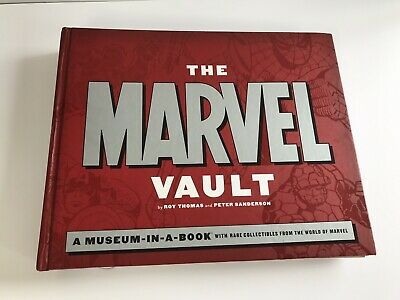 The Marvel Vault 'A Museum In A Book' 33X27