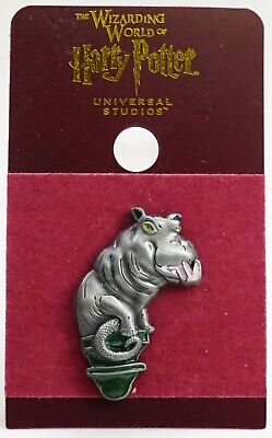 New Universal Wizarding World Harry Potter Magical Menagerie Hippo Sculpture Pin