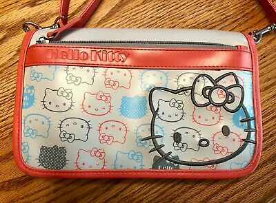 Hello Kitty (Sanrio) Crossbody Bag w/Organizer - Never Used! Rare Model