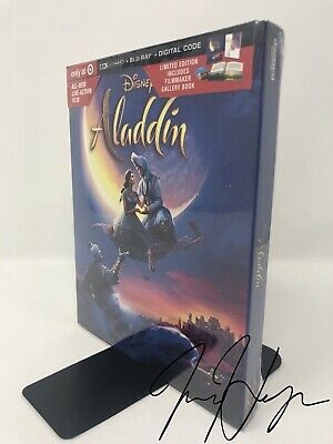 PRE- ORDER WALT Disney Aladdin 2019 LIVE ACTION MOVIE 4K UHD disc