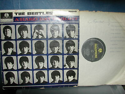 The Beatles-A hard days night LP 1964 mono 2nd press POOR