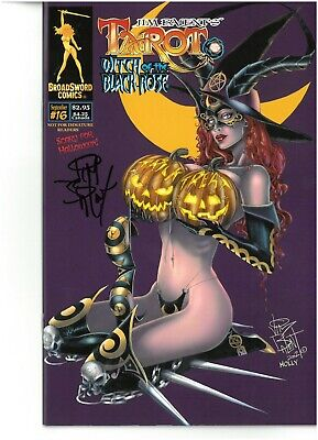 Tarot Witch of the Black Rose 16 RE-ISSUED edition signed by Jim Balent NM