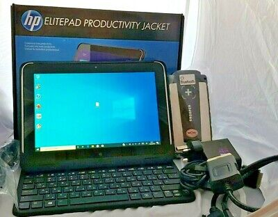 HP ElitePad 1000 G2 Win10 HP Productivity Jacket & Car Diagnostics Kit & Extras