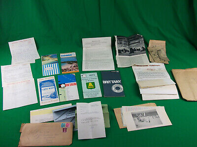 Holiday Details Brittany France 1973 Job Lot Collectable