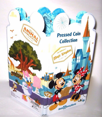 Disney Parks✿Mickey Mouse and Friends Pressed Coin Penny Collection Book Holder