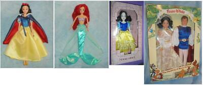 "Disney on Ice The Little Mermaid PRINCESS SNOW WHITE ARIEL 11"" Doll PARKS Prince"